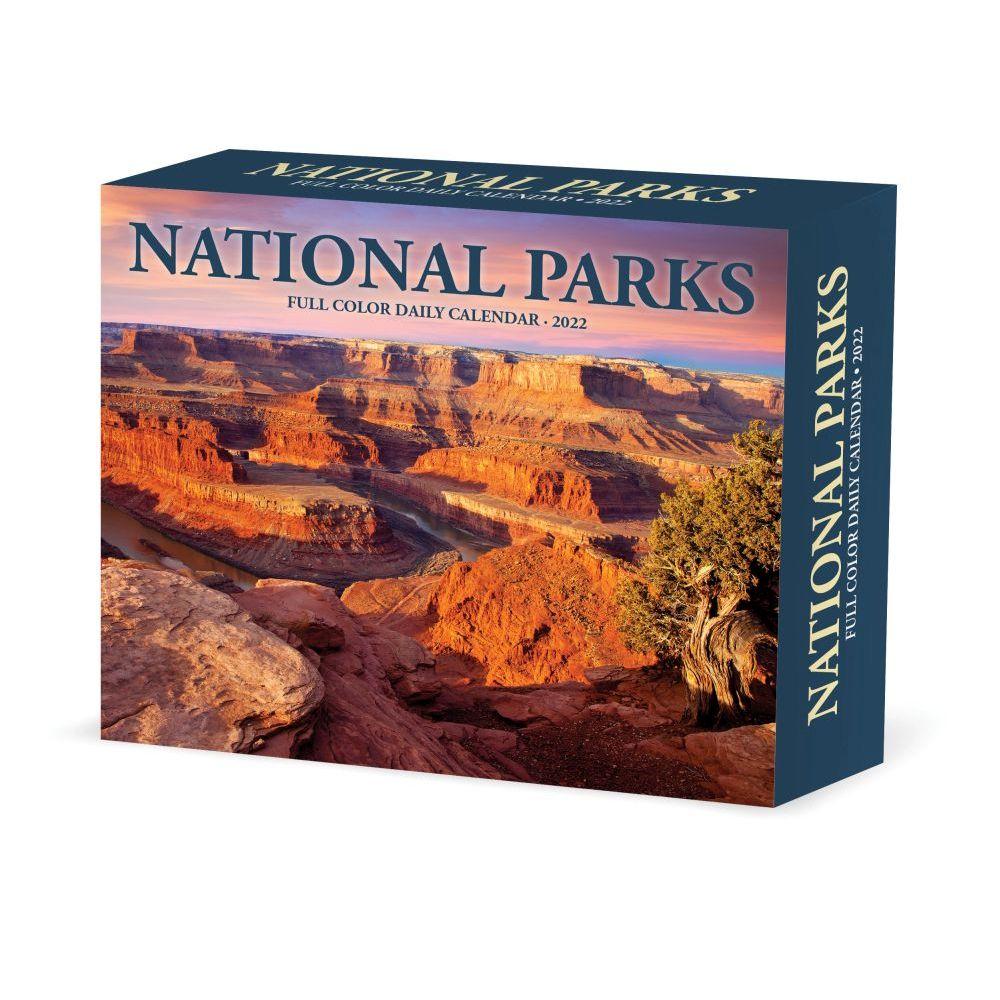 National Parks 2022 Desk Calendar