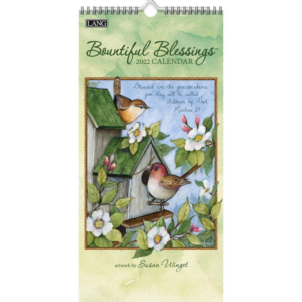 La Belle Jardiniere Easel Desk Calendar