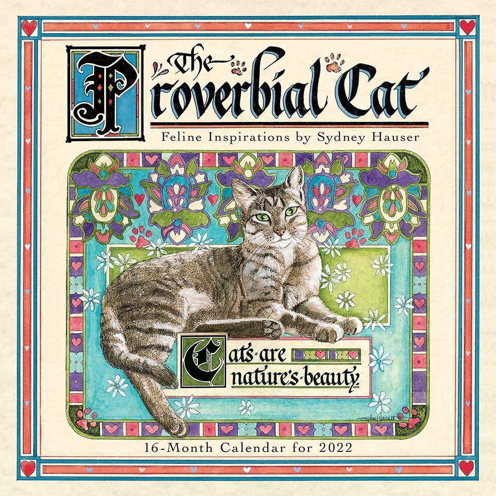 Cats What Cats Teach Us 2020 Mini Wall Calendar