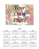 Thumbnail of custom photo calendar